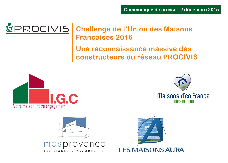 CHALLENGES UMF 2016 PROCIVIS constructeurs