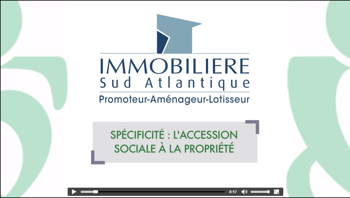 IMMOBILIERE SUD ATLANTIQUE RESEAU PROCIVIS PROMOTION IMMOBILIERE