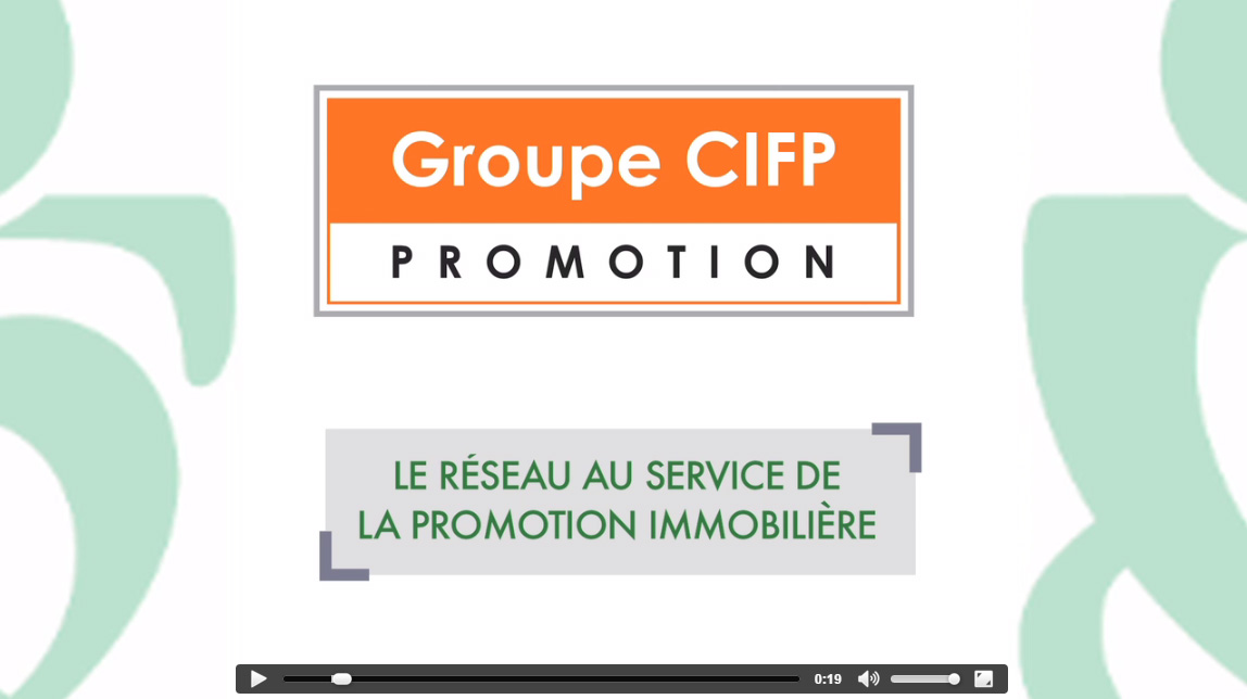 GROUPE CIFP RESEAU PROCIVIS PROMOTION IMMOBILIERE