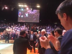 Congrès USH Jean-Louis DUMONT et François HOLLANDE