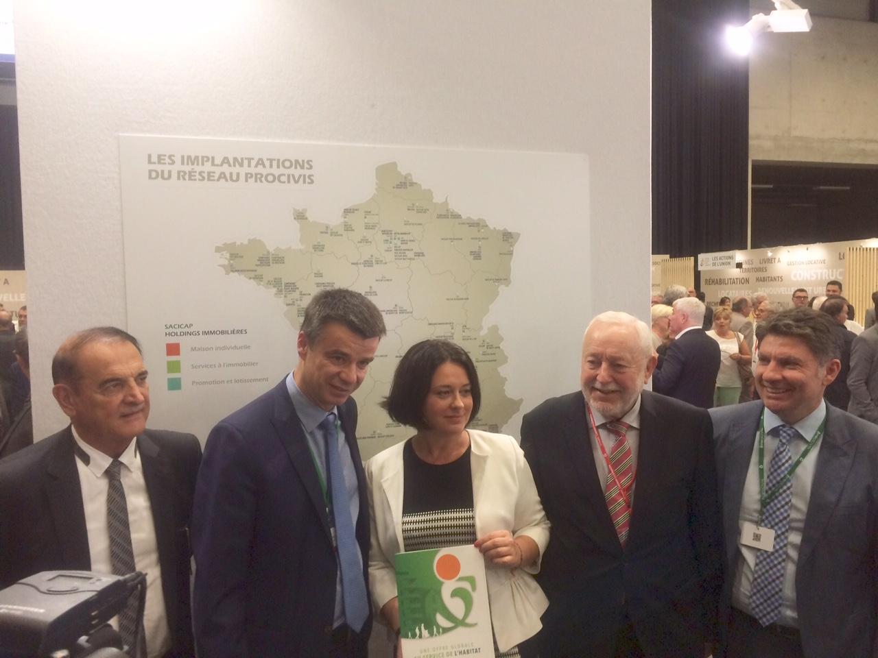 Sylvia PINEL Yannick borde PROCIVIS CONGRES HLM 2015