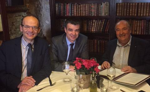 réseau PROCIVIS Christian De Benazé, Yannick Borde et Stéphane Bonnois