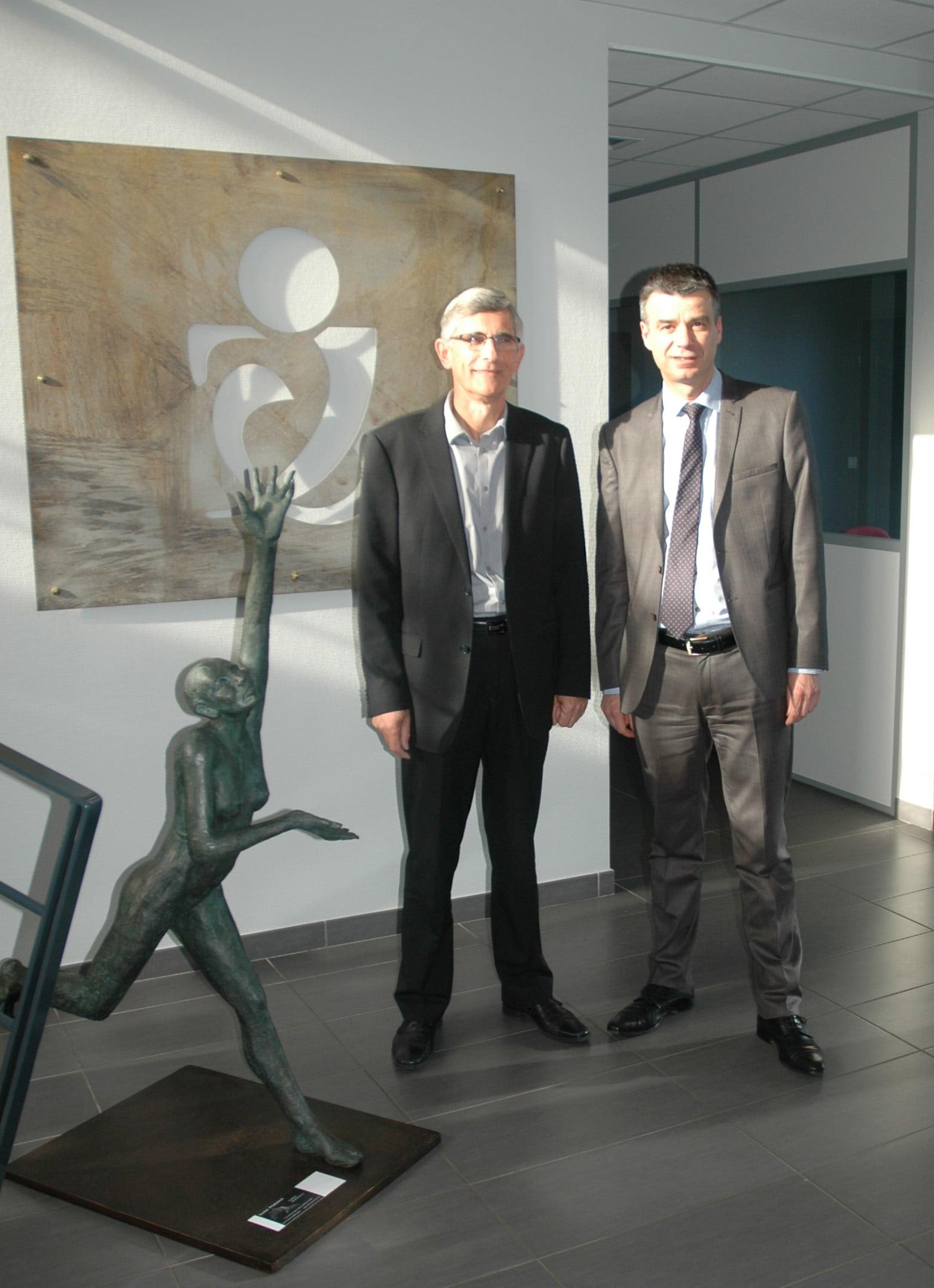 Joseph Bruneau et Yannick Borde PROCIVIS MAYENNE