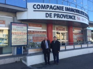 sacicap VISITE CIFP AVIGNON Philippe Petiot Jean RissoStéphane Lamblin procivis