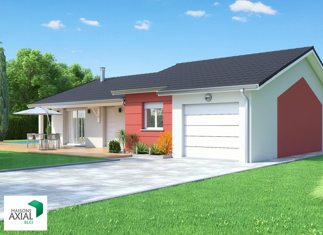 Maisons individuelles maisons axial slci reseau procivis for Maisons individuelles