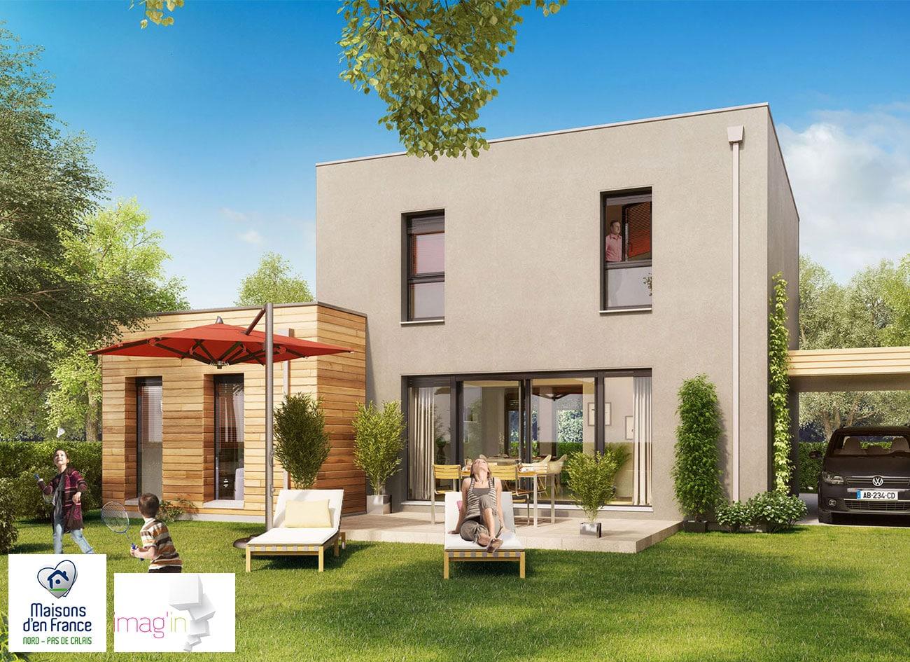 maisons individuelles maisons d 39 en france imag 39 in reseau. Black Bedroom Furniture Sets. Home Design Ideas