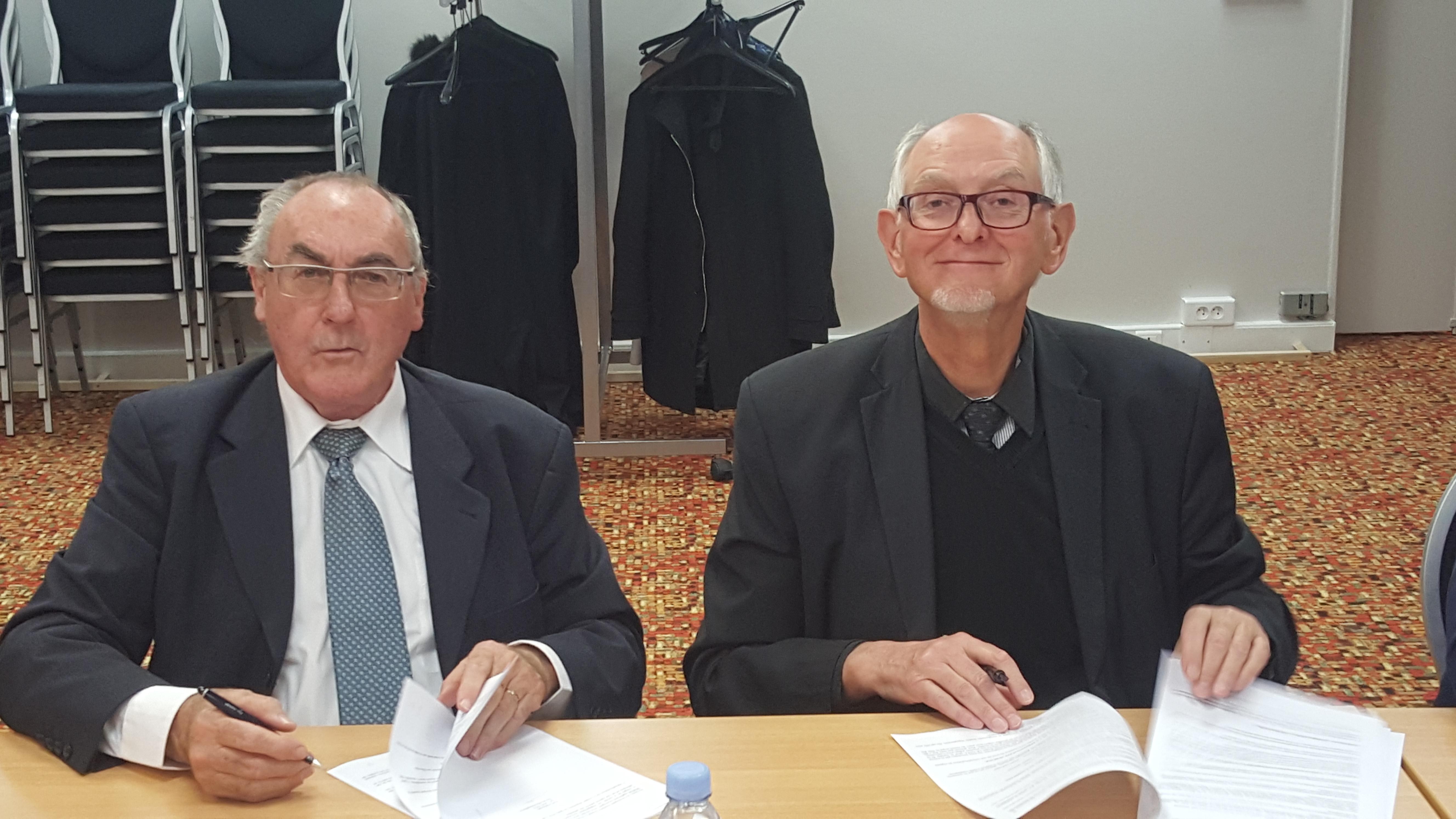 Roger LE GALL Louis Marie VEZIN - signature Statuts Maisons d'en France Bretagne 7 avril 2016 procivis