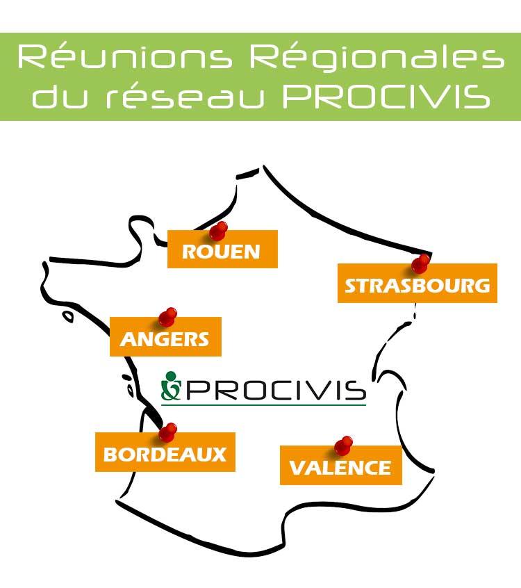 Réunions régionales procivis 2016 Yannick borde jean-luc lips