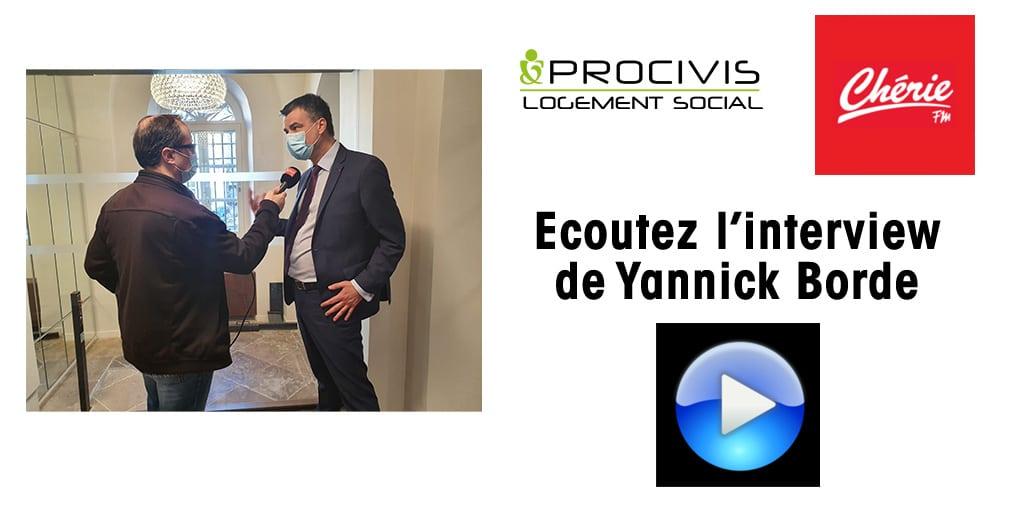 INTERVIEW YANNICK BORDE PROCIVIS LOGEMENT SOCIAL CHERIE FM